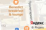 Схема проезда до компании Телекомсервис в Красноярске