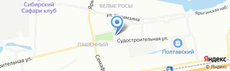 СМАРТ на карте Красноярска