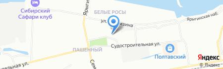ЯР-ОПТИКА на карте Красноярска