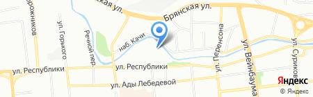 Авант на карте Красноярска