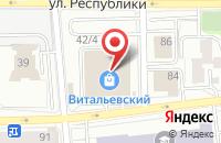 Схема проезда до компании Курсив-Тм в Красноярске