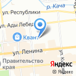 МЖК ПО Крастяжмаш на карте Красноярска