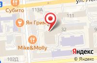 Схема проезда до компании Студия Аргус в Красноярске