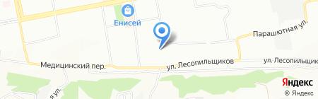 Лилит на карте Красноярска
