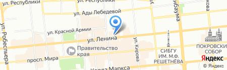 ЦЕРИХ Кэпитал Менеджмент на карте Красноярска