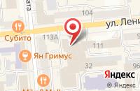 Схема проезда до компании Статус-М в Красноярске