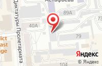 Схема проезда до компании Транслес в Красноярске