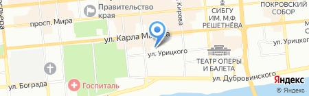 Детский сад №222 на карте Красноярска