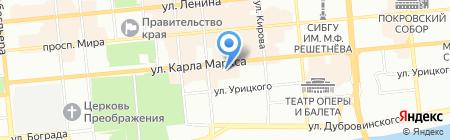 Bravissimo на карте Красноярска