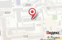 Схема проезда до компании Лад Студия в Красноярске