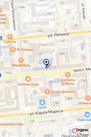 ПРОИЗВОДСТВЕННАЯ КОМПАНИЯ ВОДЫ СИБИРИ на карте Красноярска