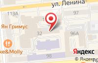 Схема проезда до компании Центральный в Узюково