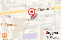 Схема проезда до компании Техносайд в Красноярске
