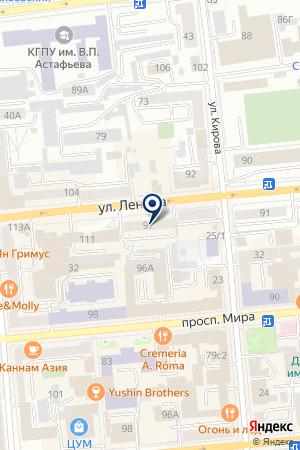 МАГАЗИН ПЕКАРНЯ СЛАВЯНКА на карте Красноярска