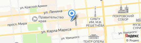 Банкомат БИНБАНК на карте Красноярска