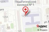 Схема проезда до компании Творческая Компания «Кайрос» в Красноярске