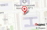 Схема проезда до компании Красноярская Семья в Красноярске