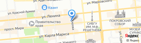 ПРАЙМ ЭКСПЕРТ на карте Красноярска