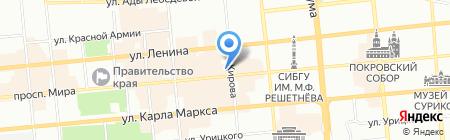 Infinity Travel на карте Красноярска
