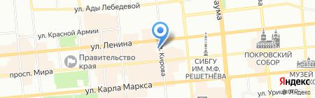 Детский сад №67 на карте Красноярска
