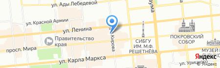 Бельгийские пекарни на карте Красноярска