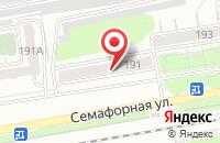 Схема проезда до компании Регион в Красноярске