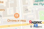 Схема проезда до компании Леди в Красноярске