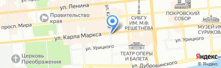 GSM-Service на карте Красноярска