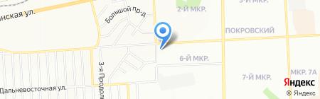 Любимый на карте Красноярска