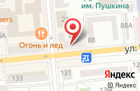 Схема проезда до компании Индекс-Медиа в Красноярске