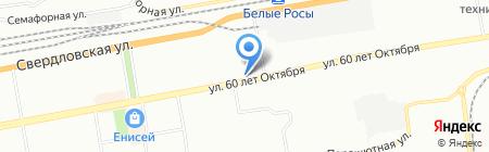 Золотой Ключ на карте Красноярска