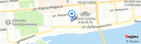ВВС-Сервис на карте Красноярска