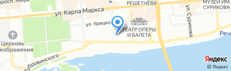 Викинг плюс на карте Красноярска