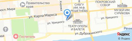 Чайхона на карте Красноярска