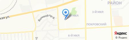 Детский сад №48 на карте Красноярска
