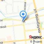 ВНУТРИ на карте Красноярска