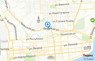 Местоположение на карте пункта техосмотра по адресу г Красноярск, ул Перенсона, зд 59/1