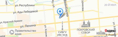 Primera на карте Красноярска