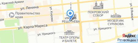 БизнесАгентство на карте Красноярска