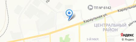 Техника на карте Красноярска