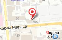 Схема проезда до компании Футбольный Клуб «Металлург - Енисей» в Красноярске