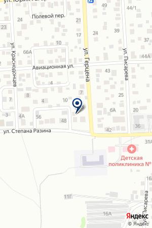 С.ДУБИНИНО ПОЧТОВОЕ ОТДЕЛЕНИЕ на карте Красноярска