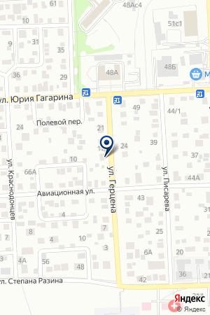 МАГАЗИН АНДРЕЕВ Д.Б. на карте Красноярска