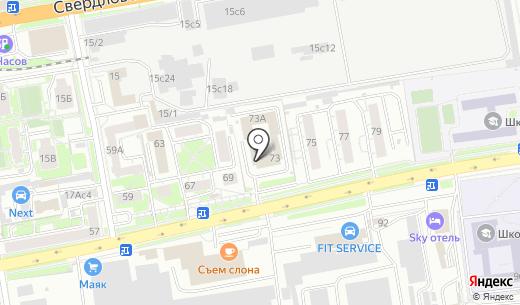 Следственный отдел по Свердловскому району г. Красноярска. Схема проезда в Красноярске