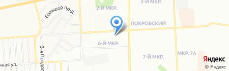 Аптека-Декса+ на карте Красноярска