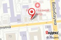 Схема проезда до компании Промтех в Красноярске