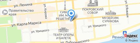 Съем слона на карте Красноярска
