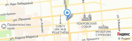 Инопроф на карте Красноярска