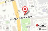 Схема проезда до компании Данко-М в Красноярске