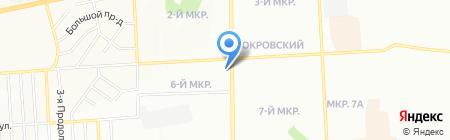 Сибмон на карте Красноярска